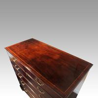 George III Cross Banded Mahogany Chest (6 of 7)