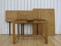 Antique Bleached Oak Extending Dining Table (4 of 10)