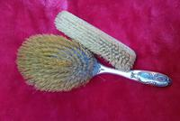 Solid Silver Dressing Table Brush Set (3 of 4)