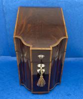 George III Mahogany Cutlery Box (2 of 12)