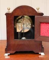 Mahogany & Satinwood Mantel Clock by Maple & Co (6 of 6)