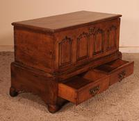 Small English Chest in Oak - 18th Century (13 of 16)