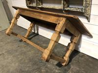 Rustic French Oak Farmhouse Dining Table (9 of 26)