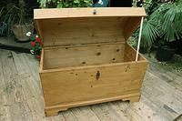Wow! Big! Old Pine Domed Blanket Box / Chest / Trunk - We Deliver! (8 of 10)