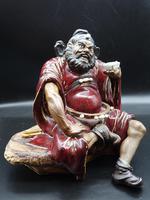 Large Early 20th Century Chinese Shiwan Figure of Zhong Kui (2 of 5)