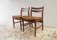 1960's Danish mid century dining table and 6 chairs (4 of 9)