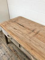 Early 20th Century Antique Oak & Pine Work Table (8 of 15)