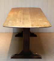 Oak Trestle Table (8 of 10)