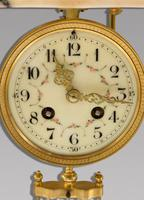 19th Century French Marble Clock Set (6 of 7)