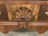 Very Good Queen Anne Style Burr Walnut Bureau (7 of 18)