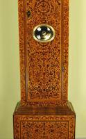 Fine Month Marquetry Longcase Grandfather Clock - Bird, London (14 of 16)