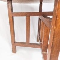Carved Nigerian African Vintage Table (10 of 11)