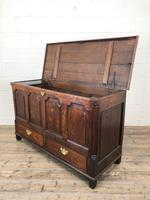 18th Century Welsh Oak Coffer with Panel Front (8 of 19)
