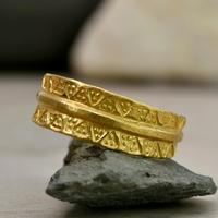 The Viking Age Iron Heart Gold Ring (5 of 6)