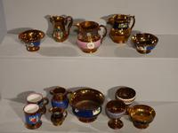 Attractive Collection of 25 Pieces of 19th Century Copper Lustreware (2 of 3)