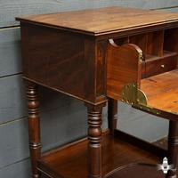 Beautiful 19th Century Campaign Writing Desk (7 of 8)