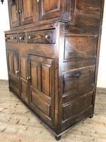 18th Century Welsh Oak Deuddarn Cupboard (5 of 12)