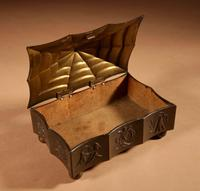Original Patinated Metal Rectangular Box in the Style of Dagobert Peche Winer Werkstätte (7 of 9)