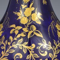 Derby Porcelain Sevres Style Bottle Vase & Cover (4 of 7)