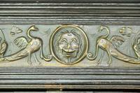 Antique Large Dark Oak Cupboard (7 of 13)