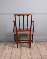 George III Elm Carver Chair (4 of 9)
