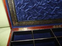 Quality Unisex Inlaid Rosewood Jewellery Box. c1840 (6 of 11)