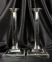 Fine Pair of Silver Candlesticks (5 of 12)