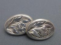 Silver Victorian Cufflinks (6 of 6)