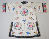 Antique Chinese Silk Embroidered Robe (6 of 9)