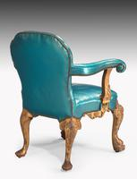 Pair of 19th Century Giltwood Armchairs by Morant & Co (5 of 8)