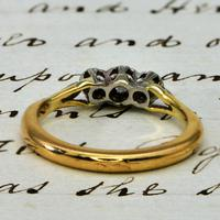 The Vintage Illusion Set Three Diamond Ring (3 of 4)