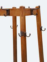 Early 20th Century hall, coat, hat, stick, umbrella, stand c.1930 (4 of 5)