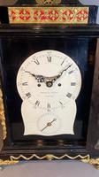 George III Ebonised Bracket Clock (15 of 15)
