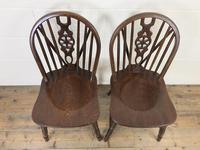 Set of Four Wheelback Dining Chairs (4 of 11)