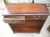 Mahogany Console Table Bookcase (2 of 2)