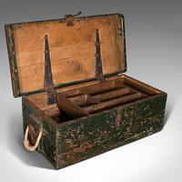 Small Antique Mariner's Trunk, English, Pine, Chest, Late Victorian c.1900 (8 of 12)