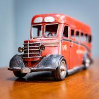Retro Toy Tin Bus (2 of 7)