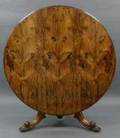 Superb Large Rosewood Centre Table (2 of 5)