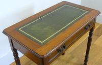 Delightful Little Victorian Leather Topped Single Drawer Desk c.1880 (5 of 12)