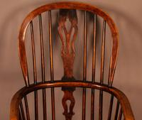 High Back Windsor Chair Ash & Elm Rockley Maker (5 of 8)