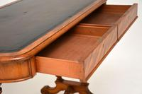 Antique Victorian Satinwood Writing Table by Heal & Son (8 of 15)
