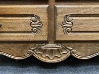 Stylish French Oak Chest of Drawers (12 of 18)