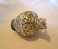 Vintage Sterling Silver Bracelet Charm 1960s Large Wine Pitcher Charm 5.6 Grams (6 of 8)