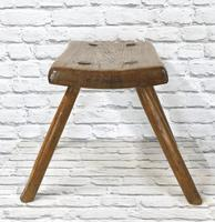 Elm-seated Country Stool (4 of 6)