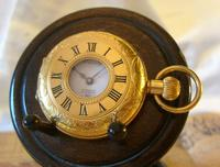 Vintage Pocket Watch 1970s Swiss County 17 Jewel 12ct Gold Plated FWO (2 of 12)