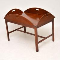 Antique Mahogany Butlers Tray Coffee Table (5 of 10)