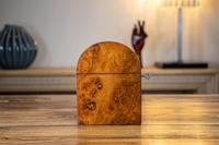Burr Walnut Tea Caddy with Canisters 1880 (2 of 9)