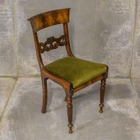 Set of Four William IV Mahogany Dining Chairs (7 of 7)