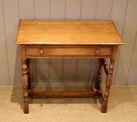 Light Oak Hall Table (7 of 11)