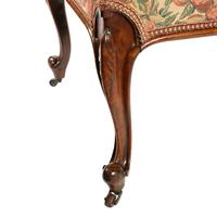 Large Victorian Rosewood Centre Stool (9 of 9)